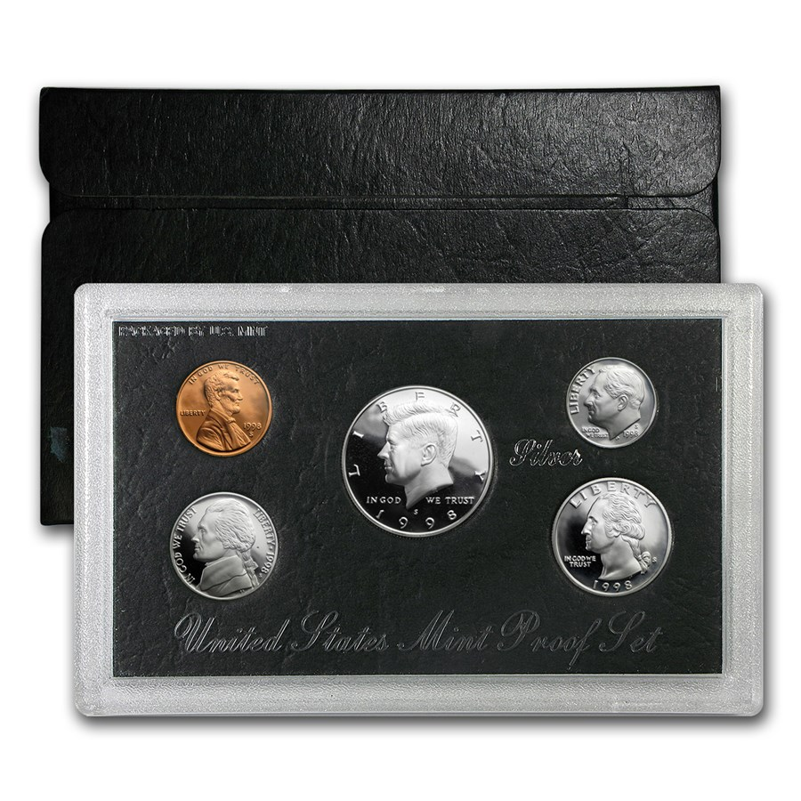 1998-S Silver Proof Set