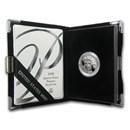 1998-W 1/4 oz Proof American Platinum Eagle (w/Box & COA)