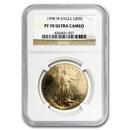 1998-W 1 oz Proof Gold American Eagle PF-70 NGC