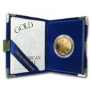 1998-W 1 oz Proof Gold American Eagle (w/Box & COA)