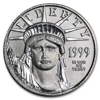 1999 1/10 oz American Platinum Eagle BU