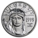 1999 1/10 oz Platinum American Eagle BU