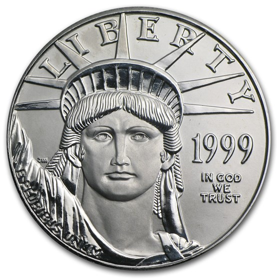 1999 1 oz American Platinum Eagle BU