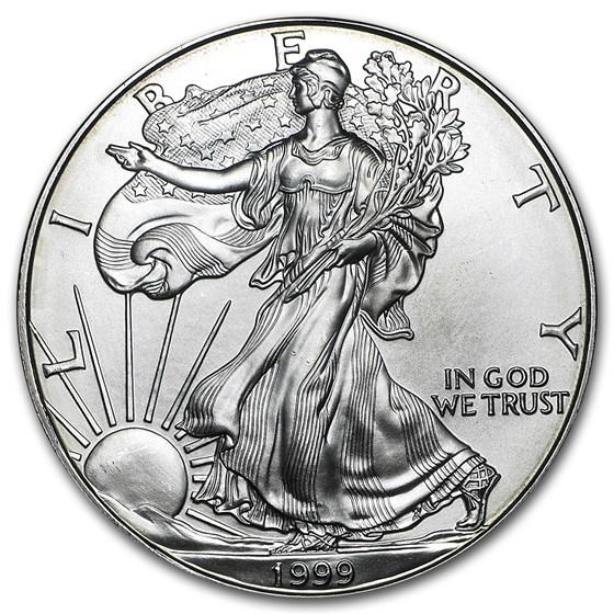 1999 1 oz American Silver Eagle BU