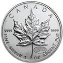 1999/2000 Canada 1 oz Silver Maple Leaf Millennium Privy