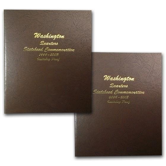 1999-2008 200-coin 50 State Quarter Complete Set (Dansco Albums)