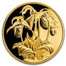 1999 Canada Proof Gold $350 Flowers Lady's Slipper .99999 Proof