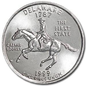 1999-D Delaware State Quarter BU