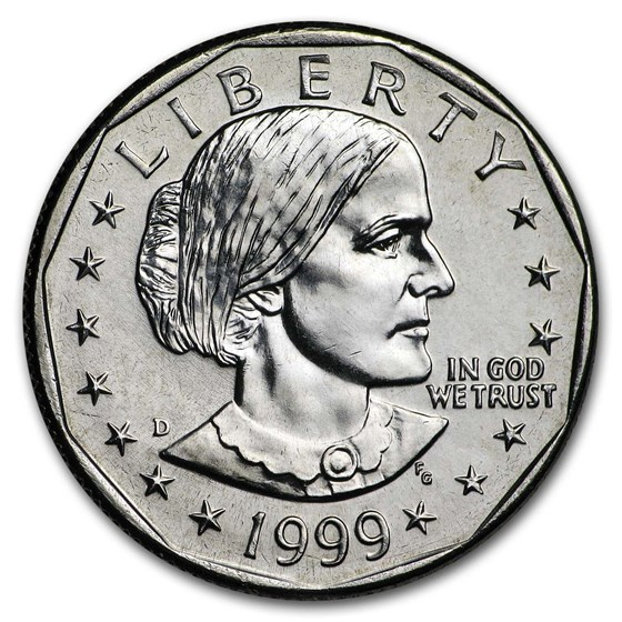 1999-D Susan B. Anthony Dollar BU
