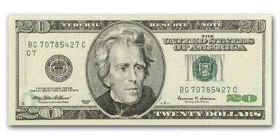 1999 (G-Chicago) $20 FRN CU (Offset Error)