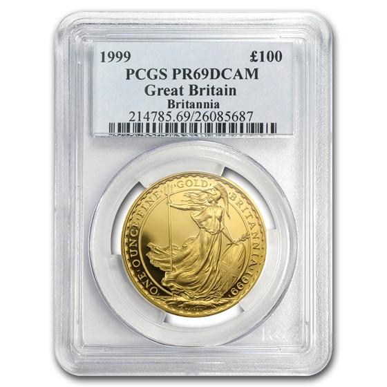 1999 Great Britain 1 oz Gold Britannia PR-69 PCGS