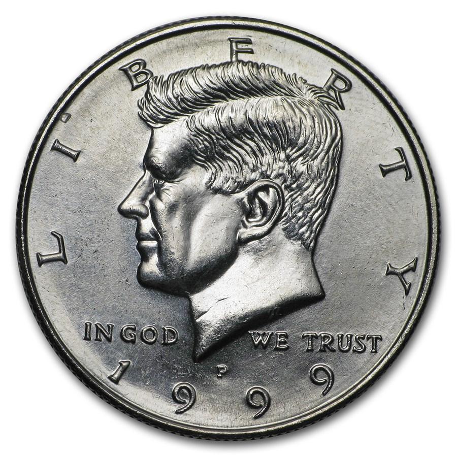 1999-P Kennedy Half Dollar BU