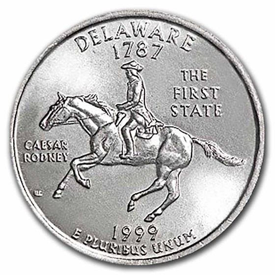 1999-P Pennsylvania Statehood Quarter 40-Coin Roll BU
