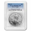 1999-P Proof American Silver Eagle PR-69 PCGS