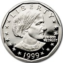 1999-P SBA Dollar Gem Proof (Capsule Only)