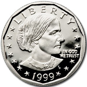1999-P SBA Dollar Gem Proof (Capsule Only)