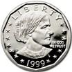 1999-P SBA Dollar Gem Proof (No Box)