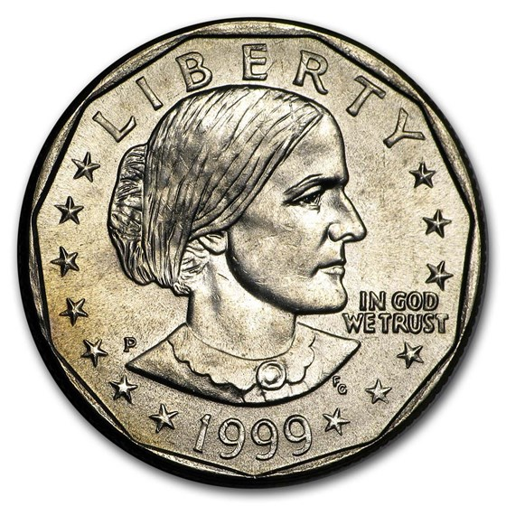 1999-P Susan B. Anthony Dollar BU