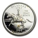 1999-S Delaware State Quarter Gem Proof (Silver)