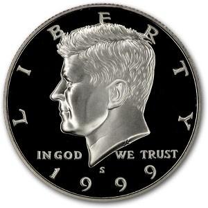 1999-S Kennedy Half Dollar Gem Proof