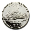 1999-S New Jersey State Quarter Gem Proof (Silver)