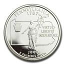 1999-S Pennsylvania State Quarter Gem Proof (Silver)