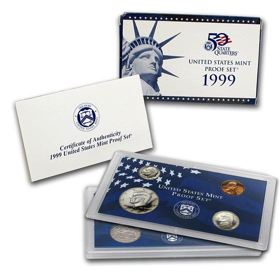 1999-S U.S. Proof Set