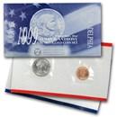 1999 SBA 2-Coin Souvenir P&D Set BU