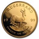 1999 South Africa 1 oz Proof Gold Krugerrand