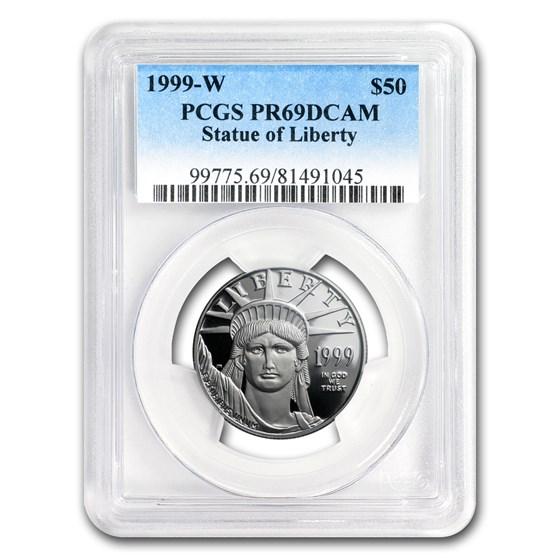 1999-W 1/2 oz Proof Platinum American Eagle PR-69 PCGS