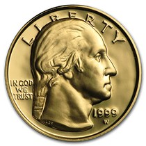 George Washington Gold Coin 5 00 Us Gold Commems Apmex