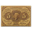 1st Issue Fractional Currency 5 Cents AU-58 EPQ PMG (FR#1230)