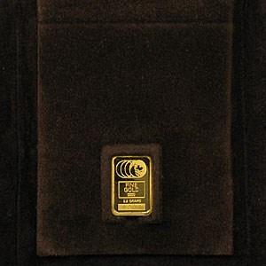 2.5 gram Gold Bar - Johnson Matthey (Kansas City Life Insurance)