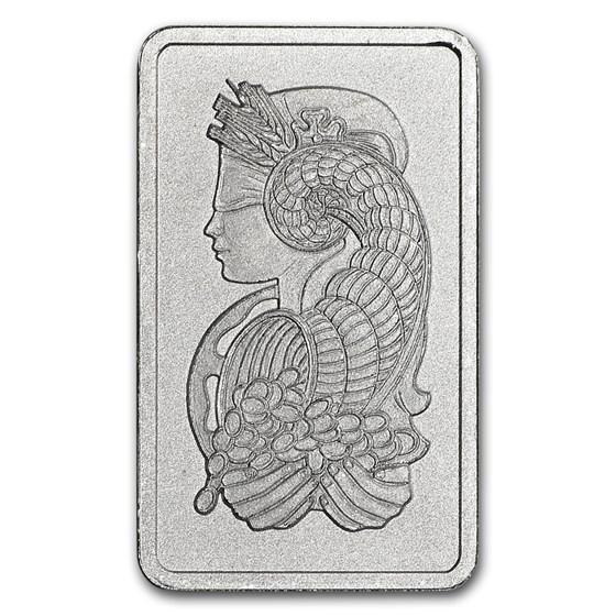 2.5 gram Platinum Bar - Secondary Market