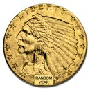 $2.50 Indian Gold Quarter Eagle BU (Random Year)
