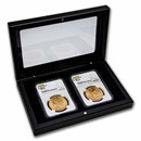 2-Coin $20 Gold Double Eagle Set MS-62 NGC