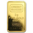 2 gram Gold Bar - Secondary Market