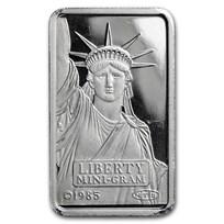 2 gram Platinum Bar - Secondary Market