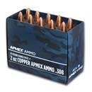 2 oz AVDP Copper Bullet - .308 Caliber 10-Count Range Pack