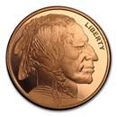 2 oz Copper Round - Buffalo