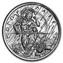2 oz Silver High Relief Round - Molon Labe (Type 3)
