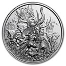 2 oz Silver High Relief Round - Molon Labe (Type 4)