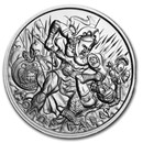 2 oz Silver High Relief Round - Molon Labe (Type 5)