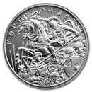 2 oz Silver High Relief Round - Molon Labe (Type 6)