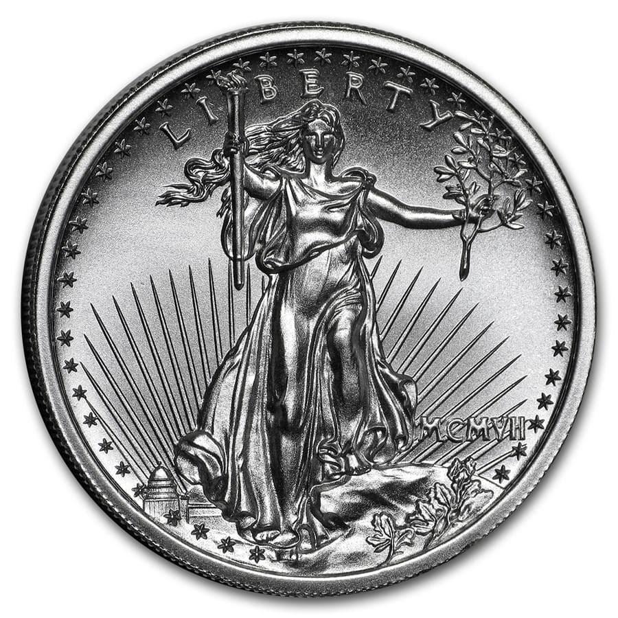 2 oz Silver High Relief Round - Saint-Gaudens