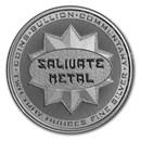 2 oz Silver High Relief Round - Salivate Metal