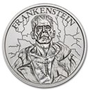 2 oz Silver HR Round - Vintage Horror Series: Frankenstein