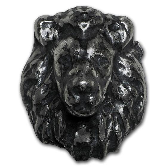 2 oz Silver - MK Barz & Bullion (3D Lion)