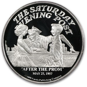 2 oz Silver Round - After the Prom