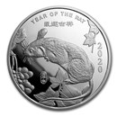 2 oz Silver Round - APMEX (2020 Year of the Rat)